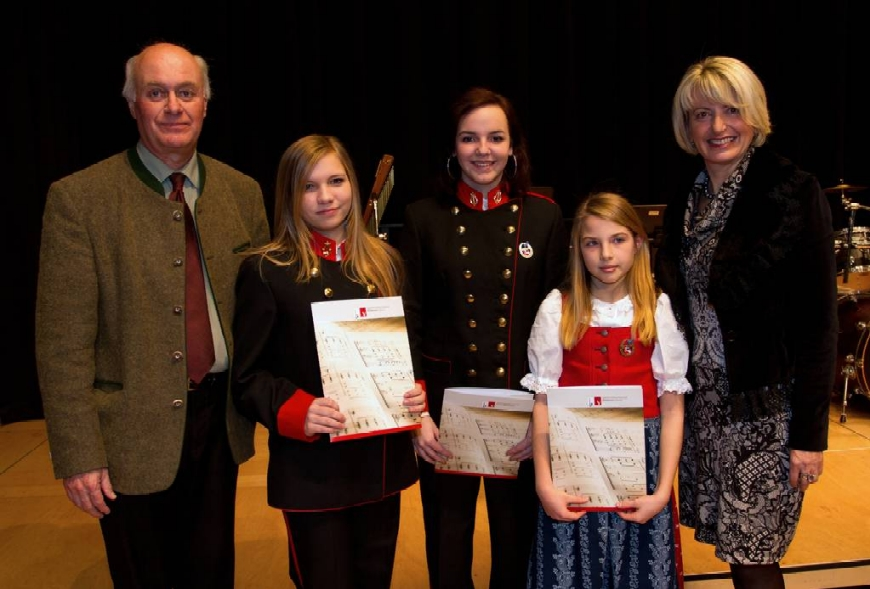 Verleihung der Jungmusikerleistungsabzeichen 2012